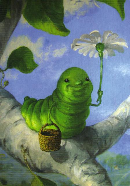 Children's Book Illustration Postcard