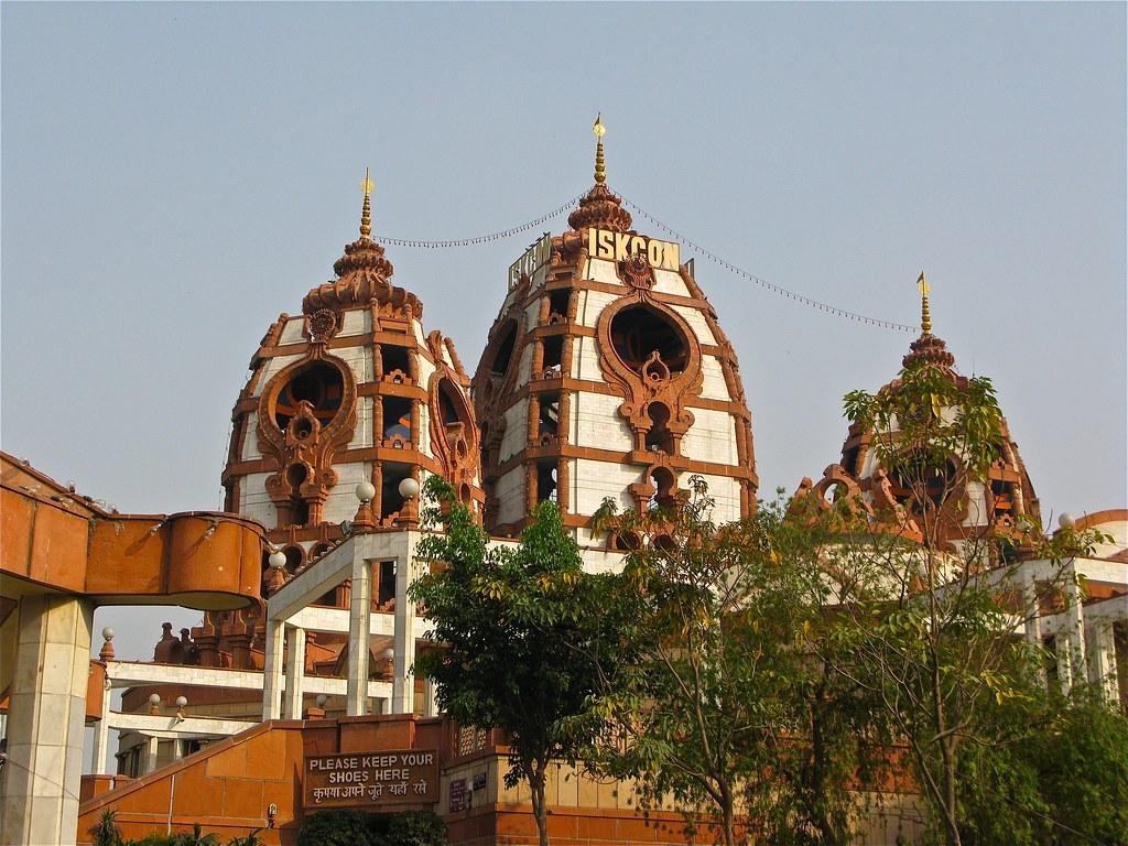 Temple of ISKCON tourist places in Delhi
