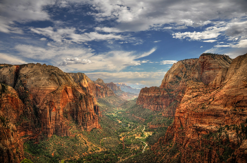 Zion Canyon HDR by Ben-Jackson-Photography