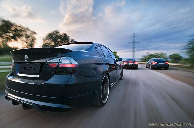 BMW E93 twin turbo + BMW E90 AC Schnitzer tutning + anothe
