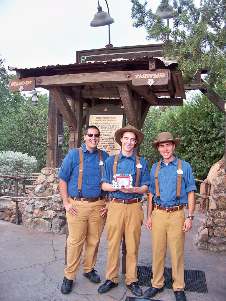 Big Thunder Mountain Railroad Cast Members and Birney   Flickr