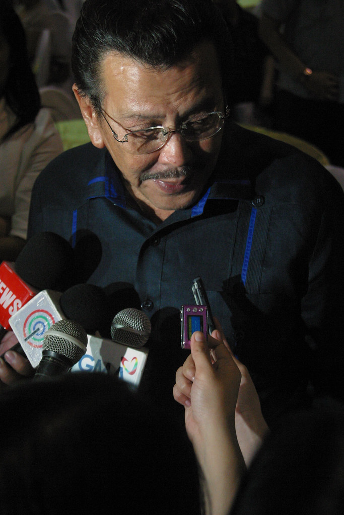 Former Philippine President Erap Estrada