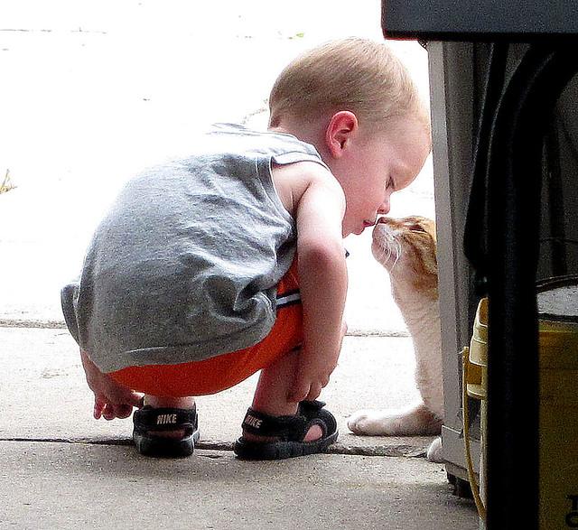 Ziggy Cat & Child Play 6-11 06