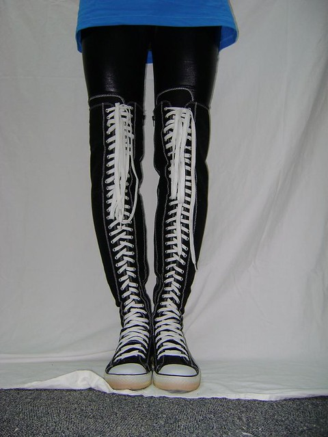 a15323711e converse lookalike thigh high | converse lookalike's from Re… | Flickr