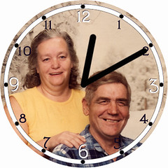 Parents in Love Clock | by customclockface
