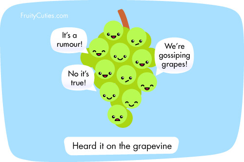 Cartoon Grape Joke