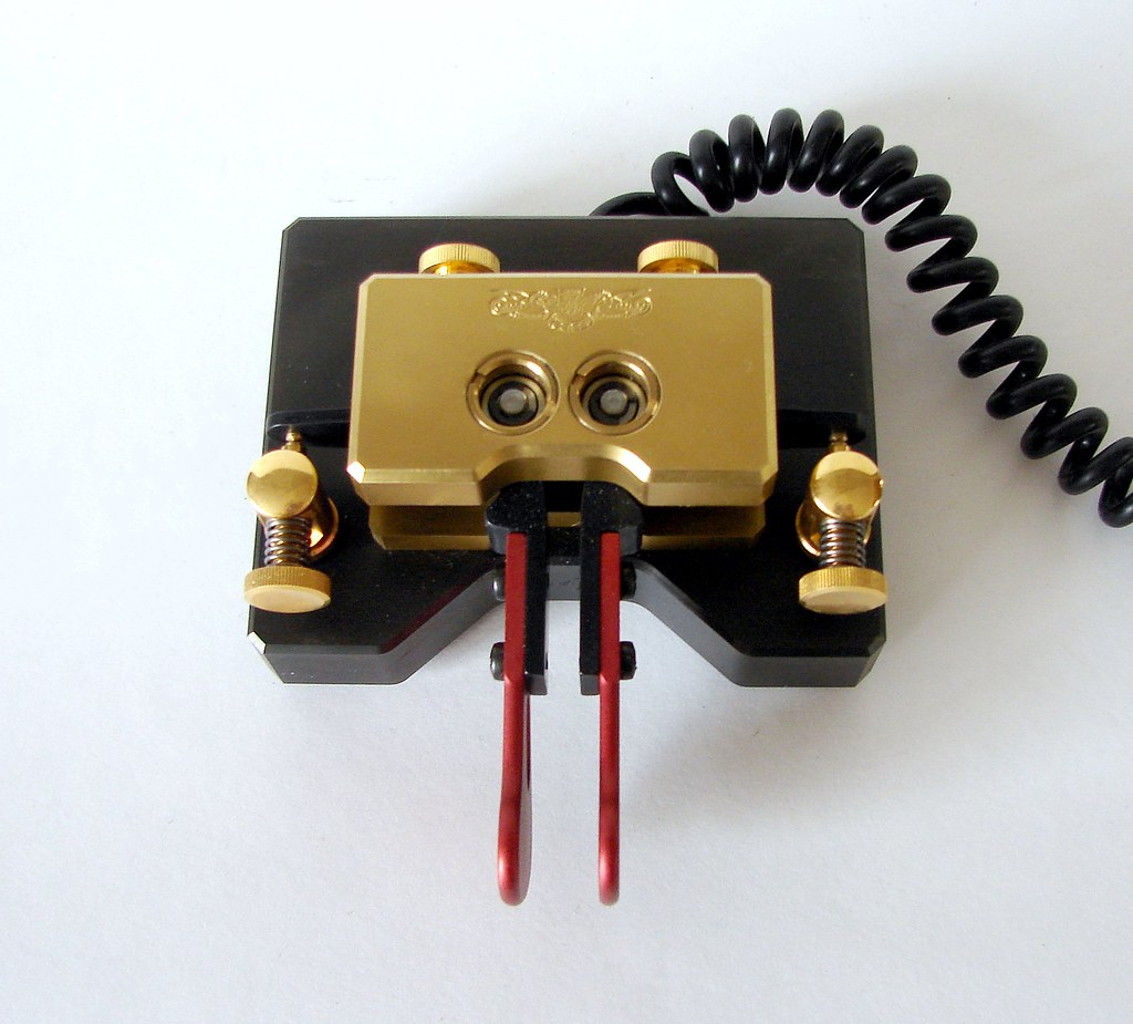 Begali Magnetic Professional Iambic Paddle Morse Key   Flickr