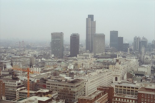 164. //30/1c/159/2.f  - VIEW of LONDON from ST. PAUL'S, UK 1987 | by EuroVizion