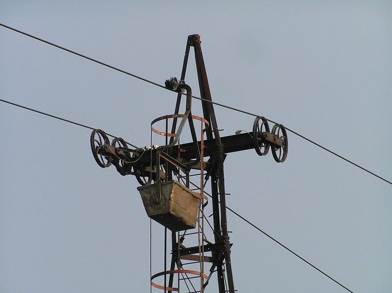 Claughton Ropeway pylon