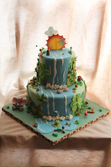 Jungle cake for Michael