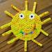 Perler Bead Sun by Kid's Birthday Parties