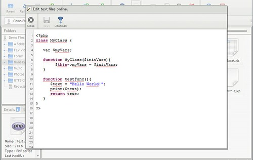 AjaXplorer source code editing | by louisvolant
