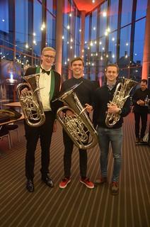 Tre svenska guttar i NM: Johannes, Oscar och Jonathan