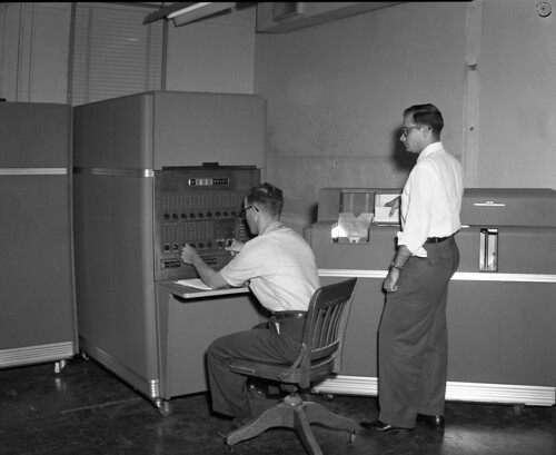 IBM Processing Machine | by Cushing Memorial Library and Archives, Texas A&M