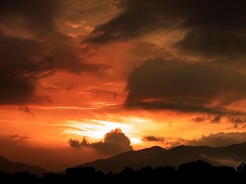 morning sky sun nature sunrise lumix dawn panasonic malaysia kampung suria pagi seremban fz28 dmcfz28 ishafizan sunporn