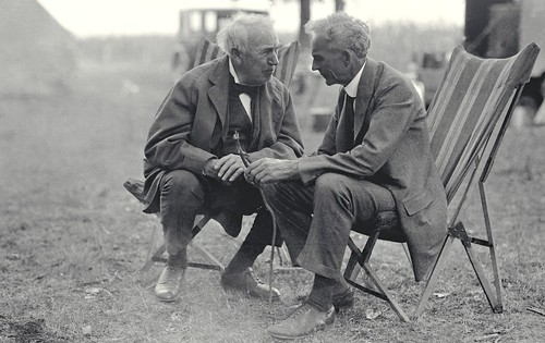 Thomas Edison And Henry Ford | by Tom Raftery