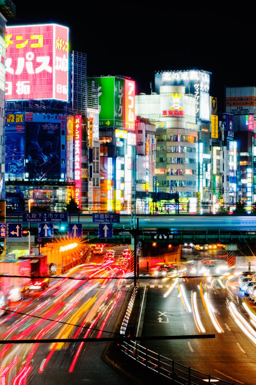 Night lights | Shinjuku, Tokyo