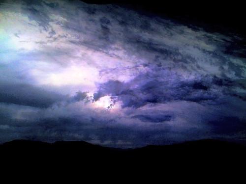 sunset sky clouds glow iphone okanogan