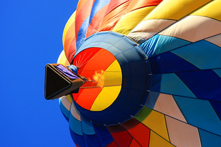 Hot Air Balloon, Fire in the Hole | by Beverly & Pack