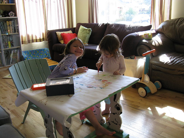 Leilani and Zoe Coloring