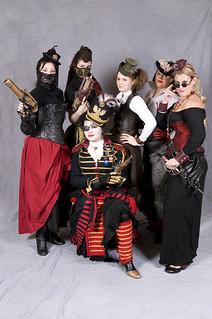 The Steam Punk crew 2