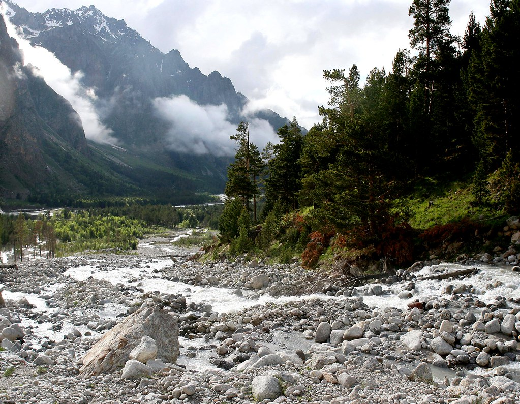 Куллумкол близ впадения в Адырсу