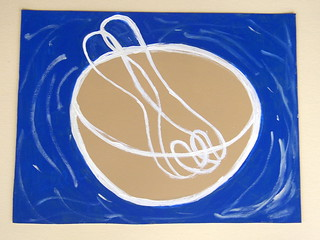 Placemat table setting Salad Bowl Mixing Bowl   by Patricia Lazar : Ceramic Art : Teapots : Pet Paint