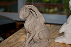 another undone hare | by linda saboe