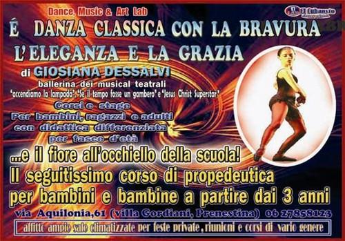 scuola danza classica roma casa discografica musilosophy