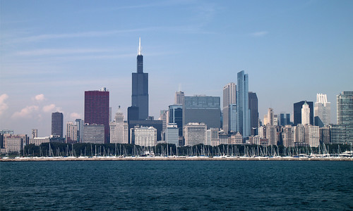 Chicago Skyline from Lake Michigan | by Mr.TinDC