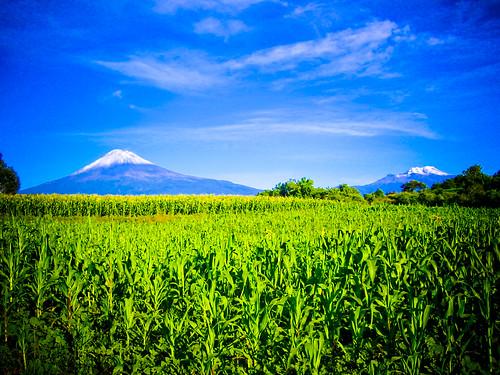 Volcanes estilo Windows / Volcanoes Windows Style (Desde Puebla)