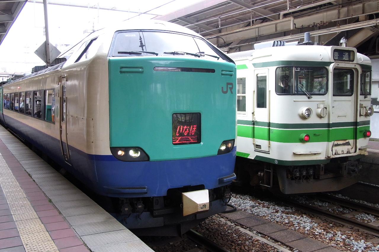 Inaho on Niigata / 特急いなほ@新潟駅