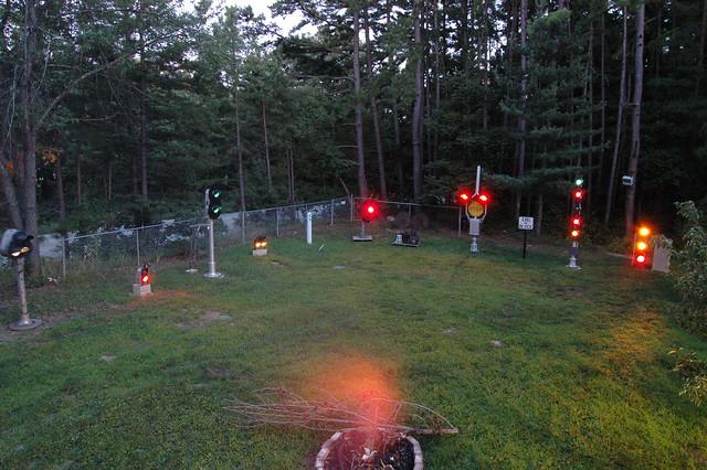 Front Yard Signals 7/25/2009