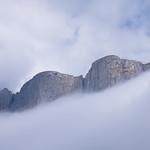 г. Большой Тхач в тумане
