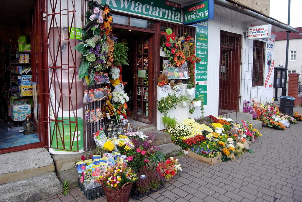 Kwiaciarnia / Florist shop