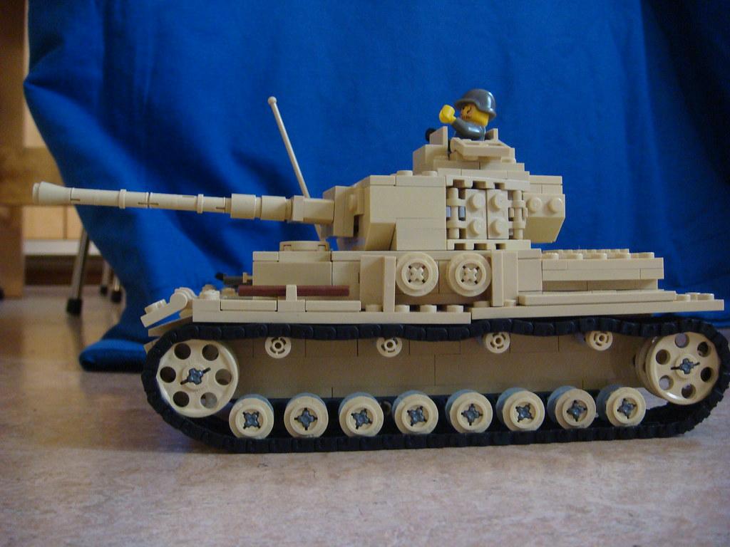 Panzer IV   My Panzer IV from Brickmania   Arvid   Flickr