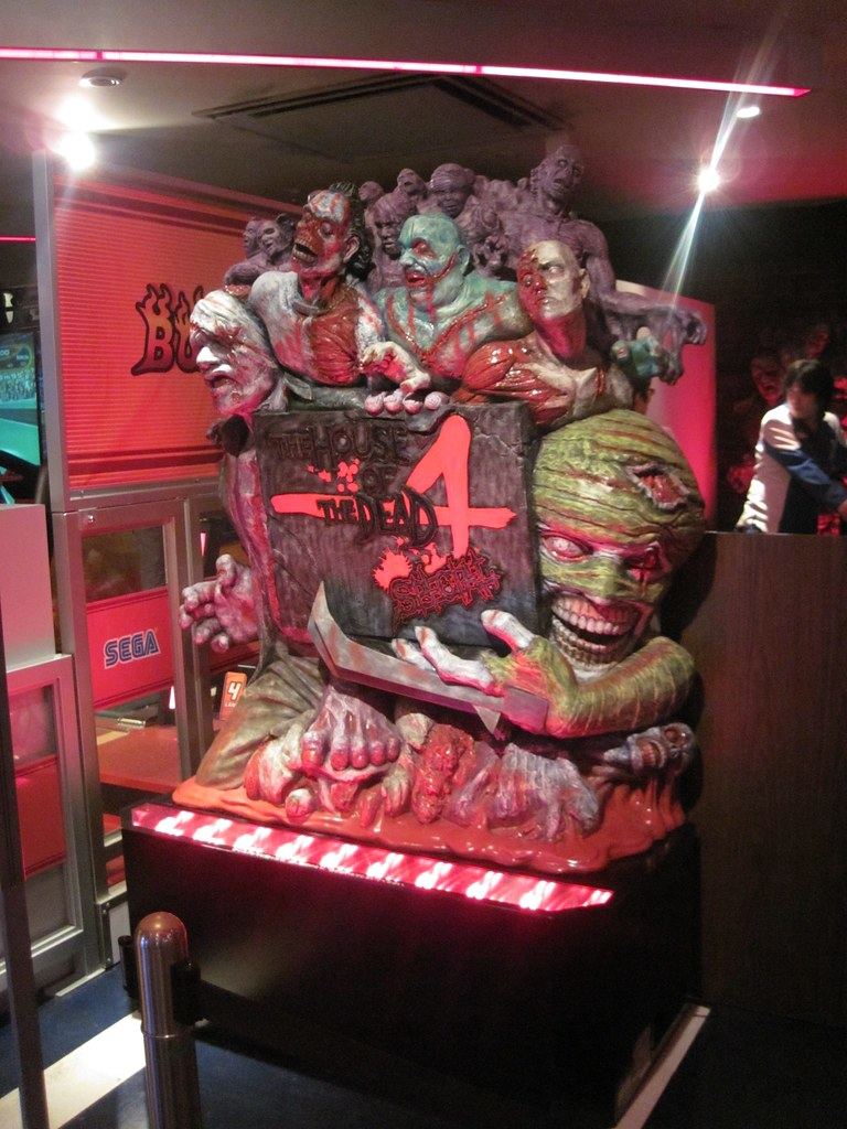 House Of The Dead 4 Simulator At Joypolis In Odaiba Flickr
