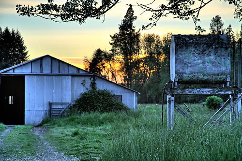 sunset evening adobe hdr lightroom