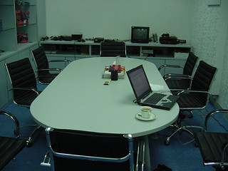 Techcorp office meeting room Hong Kong 2005 | by dcmaster
