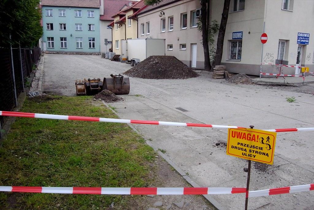 Remont parkingu / Parking lot renovation