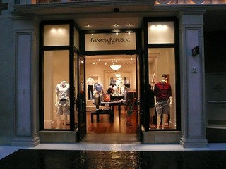 Banana Republic Store Venetian Hotel Las Vegas July 2009 | by mrkathika