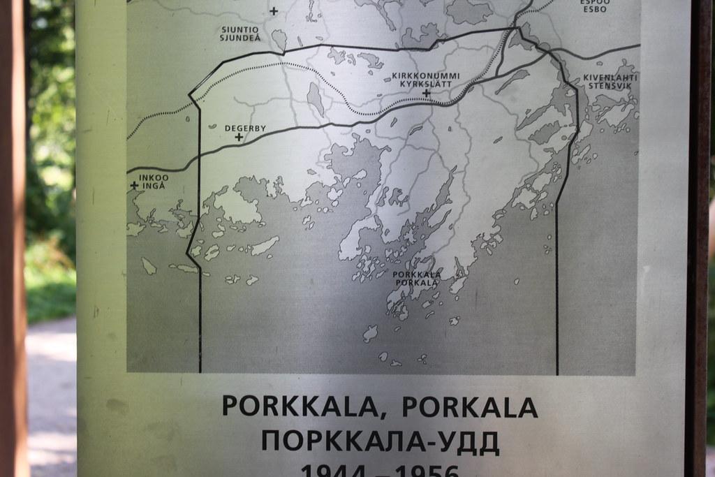Porkkalan Miehitysalueen Kartta Makiluola Flickr