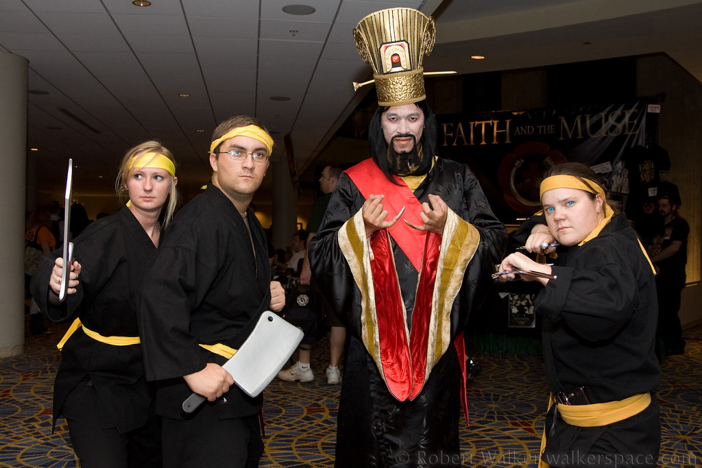 Lo Pan And The Three Storms Dragon Con 2009 From Big Tro Flickr
