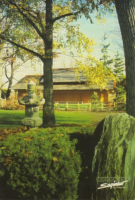 Saginaw Japanese Cultural Center Postcard