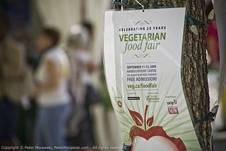 88: 2009 Veg Food Fair: Flyer