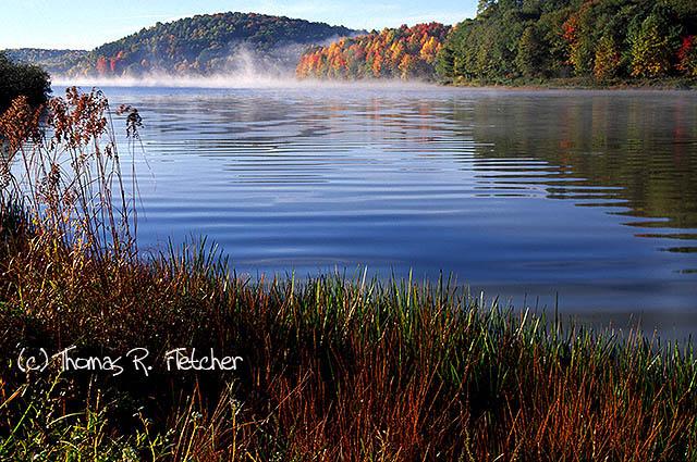 Big Ditch Lake, Cowen, Webster County, West Virginia