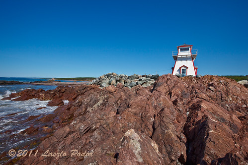 canada coast novascotia rocky getty northcumberlandstrait arisaigpointlighthouse