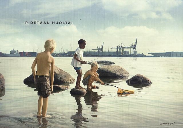 Finland Goodwill Games Ad Postcard
