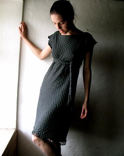 long grey sweater dress | by larimeloom