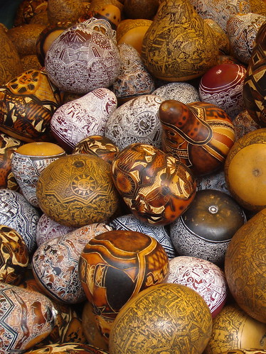 Mates Burilados / Carved Gourds | by Miguel Vera
